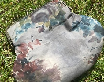 Liberty Print Clutch Bag