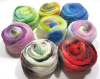 Pinwheel Mini Roving Set For Felting and Crafting