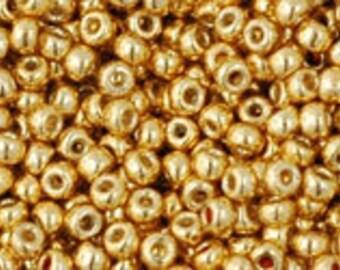 TOHO 11/0 Permafinish Galvanized Starlight Seed Bead  10 Grams