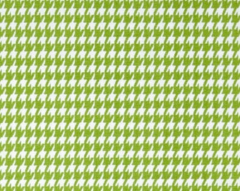 Premier Prints Houndstooth Chartreuse Home Decorating Fabric By The Yard