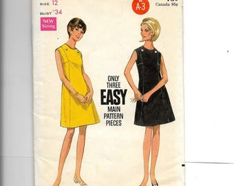 Butterick Misses' One-Piece Dress   Pattern 4759