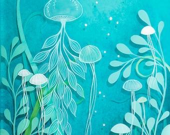 under the sea - print