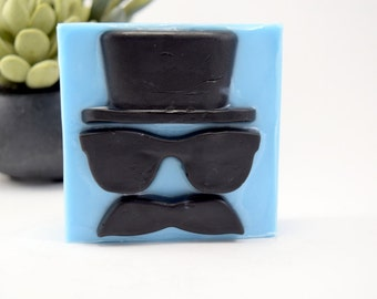 Cool Guy Soap Bar, Fathers Day Gift, Sun Dried Cotton Scented Glycerin Soap