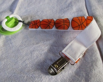 Pacifier clips, pacifier holder, babies, shower gift, baby boy, nursery, gift, grandmas house, clips pacifier, sports, football, basketball