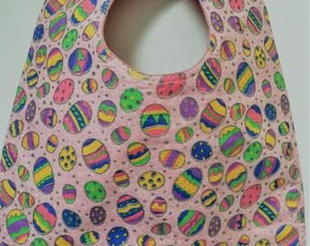 Sparkling Easter Eggs Baby Bib Easter Eggs