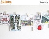 ON SALE Postcards - Portland Postcards - Set of Postcards - Illustrated Cards - Portland Oregon - Illustrated Portland - Set of 8 Portland P