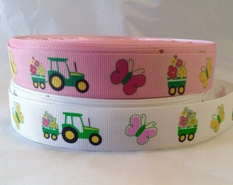 """7/8"""" Tractor Ribbon CLEARANCE 5 Yards"""