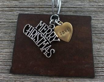 WYOMING Christmas Ornament, WYOMING Ornament, Christmas Gifts 2017 Christmas Ornaments, Personalized Gift, WYOMING Ornaments