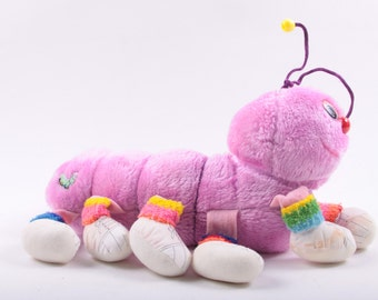 Caterpillar, Plush, Purple, Lots a Lots a Leggggggs, legs,  Tag, Colorful  ~ The Pink Room ~ 161226