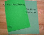 Ultrasuede with Free Nicoles BeadBacking Seafoam Green MC1