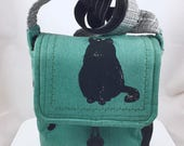 Black Cats Cat Lady Wee Bag By For Mew