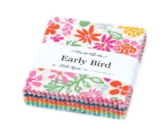 Early Bird MINI Charm Pack 2.5 inch Squares
