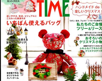 COTTON TIME November 2016 - Japanese Craft Book
