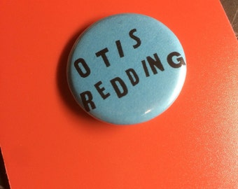 "Otis Redding 1.25"" pinback button"