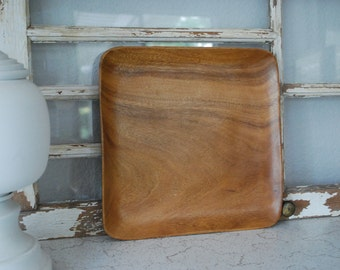 Vintage Wood Serving Tray ~ Cheese plate