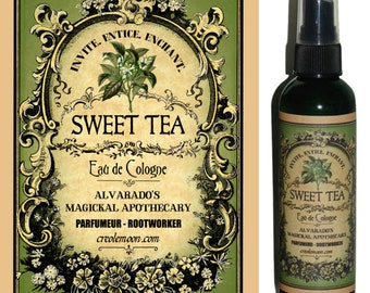 Sweet Tea Eau de Cologne by Alvarado's Magickal Apothecary 4 oz