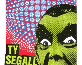 TY SEGALL Screen Print Concert Poster by Print Mafia