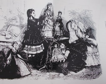 1800s Dress Etsy