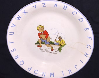 Vintage Lord Nelson Tom Tom the Piper's Son Bowl