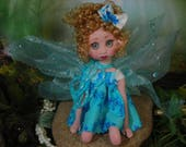 Fairy Fairies Fae pixie elf OOAK Fantasy Art Doll By Lori Schroeder