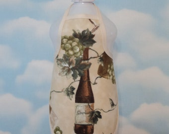 Chardonnay Dish Soap Bottle Apron - fits 25 oz.