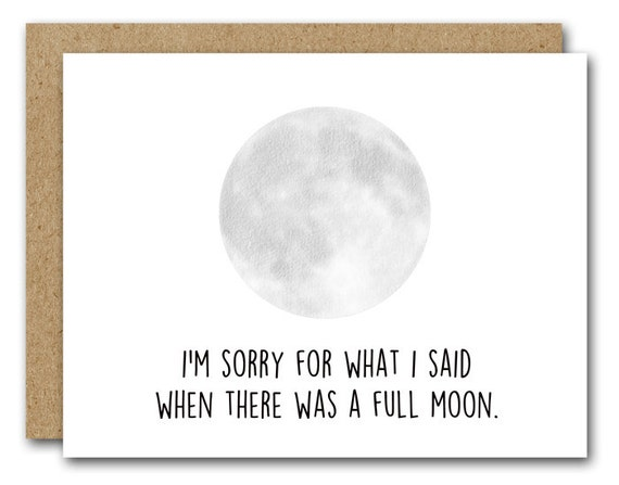 Printable Sorry Card Funny Sorry Card INSTANT DOWNLOAD – Free Printable Sorry Cards