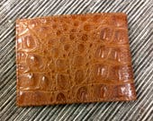 Vintage Men's Alligator Wallet Never Used