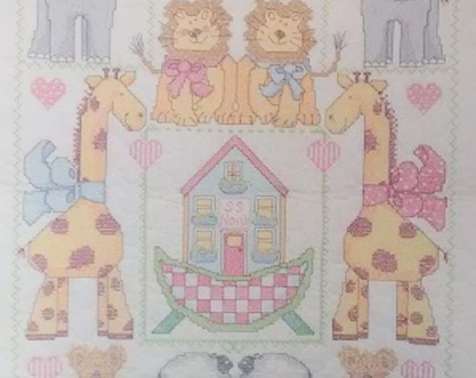 Noahs Ark Crib Cover