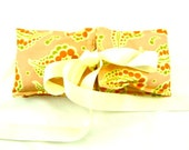 Hot Cold Therapy Wearable Wrap Heating Pad-Microwave Neck Heat Pack-Handmade Health Wellness Travel