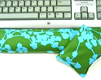 Tech Gifts Keyboard Wrist Rest Support for Keyboard, Mouse Pad, Computer Hot Cold Pack, Wrist Pad, Desk Set,