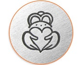 Impress Art 6mm Claddagh Metal Stamp Design Stamp  Decorative Stamp