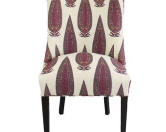 MOVING SALE - Paisley Occasional Chair