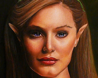 Elf Portrait - Fine Art Print - 8x10