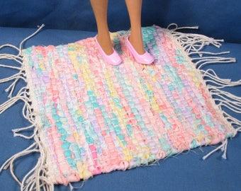 Barbie Pastel Rag Rug