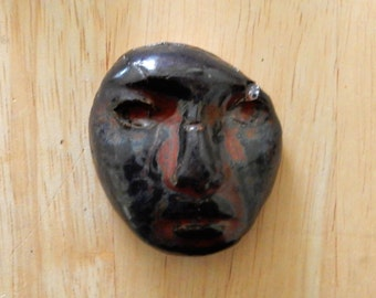 stoneware face number two