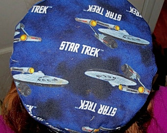 Star Trek Bucharian kippah Starship Enterprise yarmulke  Bukkarian hat style kippah Outer Space great gift for him Trekkies