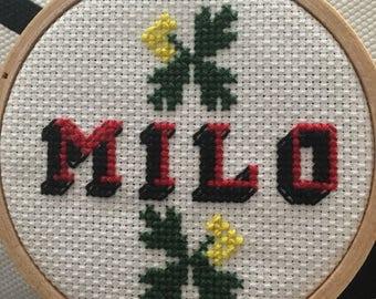 Custom Cross Stitch for Kids
