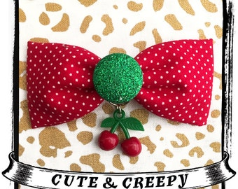 Wild Cherry Hair Clip
