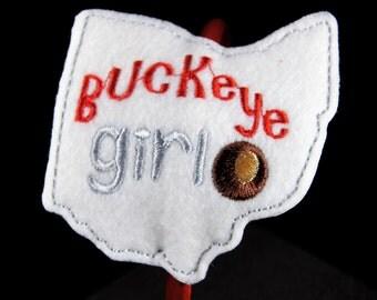 Buckeye Girl Headband Slider