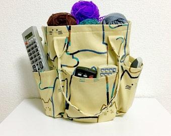 Round Bag / Tote Bag / Drawsting Bag  --- MORE CATS