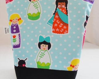 Insulated Lunch Bag - Girls around the World