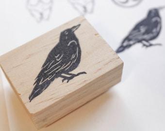 raven stamp, raven gifts, raven stationery