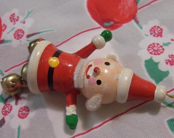 little kurt s adler santa with bells ornament