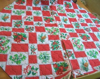 quilted tree skirt fabric