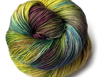 Boston Beauty Sock Yarn Merino Silk Cashmere 435 yards, Amazon