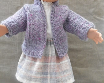 American Girl doll sweater and skirt outfit