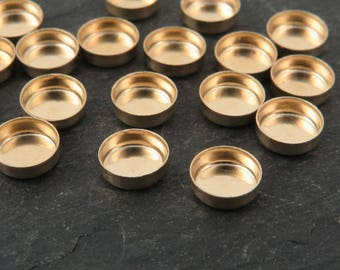 Gold Filled Round Bezel Cup Setting 5mm (CG9590)