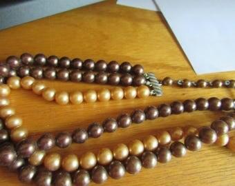 pearl 3 strand choker