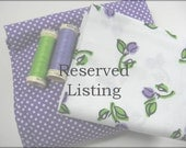 RESERVED for MJ0105