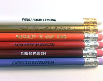 Wizard Quotes Pencil Set
